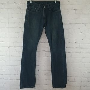 Levi's 514 medium blue wash jeans size W32 L34